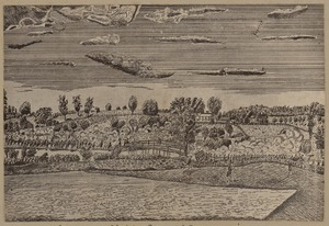 Concord fight, from old engraving.
