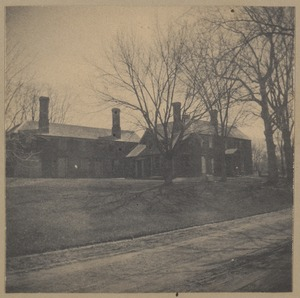 Concord, Jones House - a witness to the battle