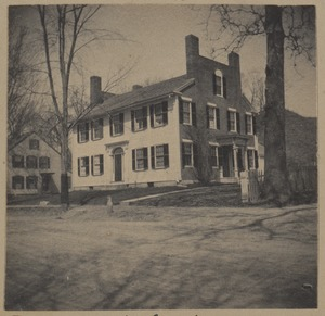 Concord, built by John Adams of Acton, about 1820.
