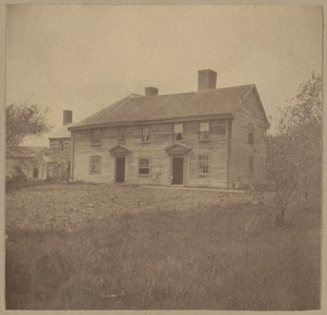 Watertown, Abram Browne House, 1632