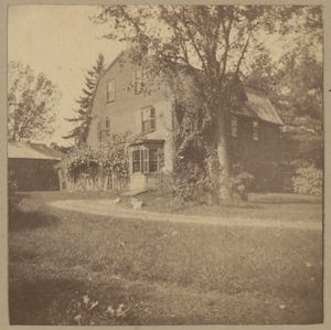 Concord, the Old Manse, 1766.
