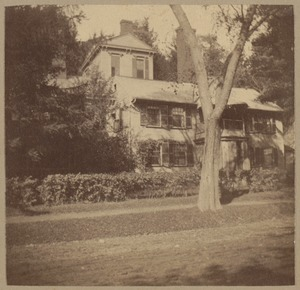 Concord, Wayside, 1757. Home of Nathaniel Hawthorne.