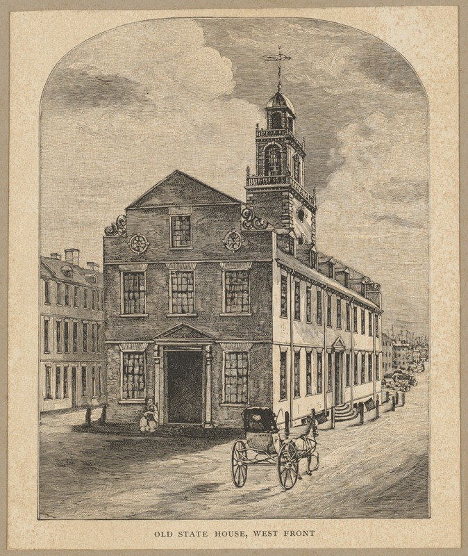Old State House, west front