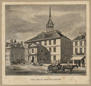 Old brick meeting-house