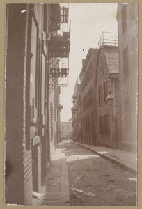 Boston, Salutation Street, named in 1708.