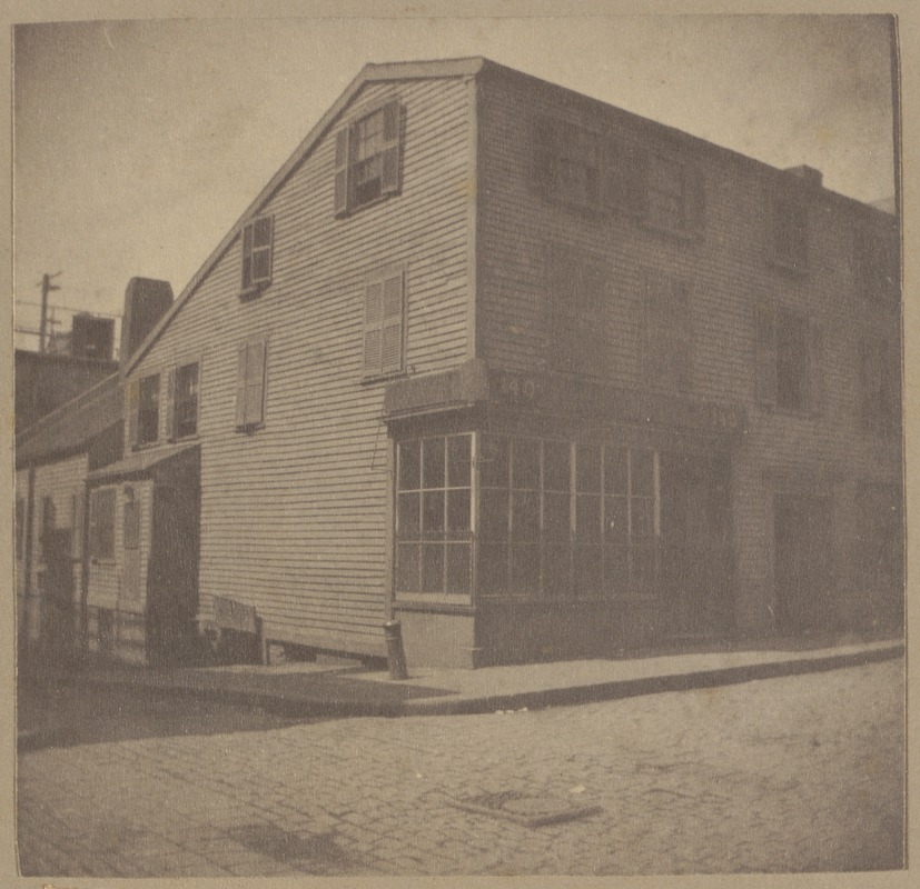 Boston, Gray House, Prince St., a British Hospital in 1775.