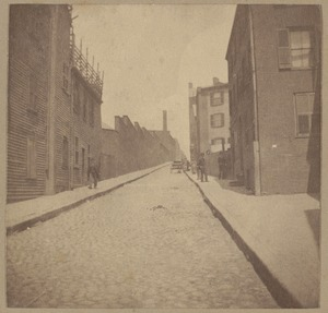 Boston, Snow Hill Street named in 1708.