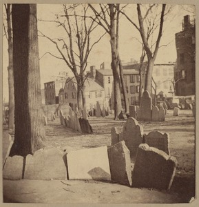 Boston, Copp's Hill Burying Ground, 1660
