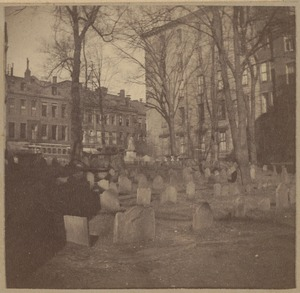 Boston, King's Chapel Burying Ground, 1630