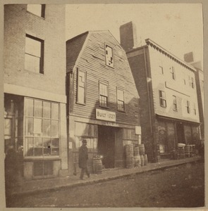 Boston, Thoreau house, Prince St., 1727