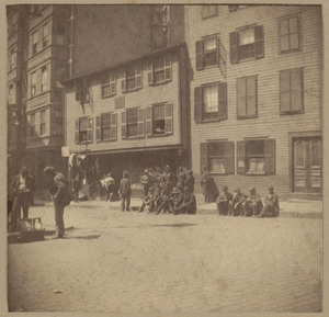 Boston, Paul Revere House, North Square about 1678.