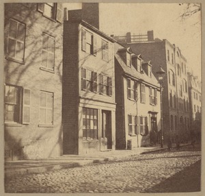 Boston, Vernon house, Charter Street, about 1696
