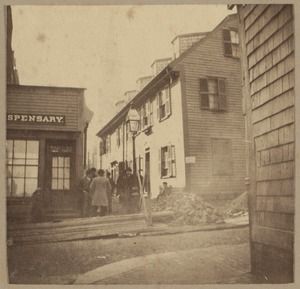 Boston, [Watem?] house, Charter Street
