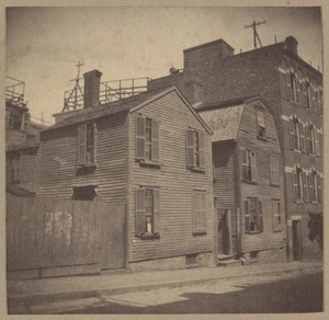 Boston, old houses, Henchman Street