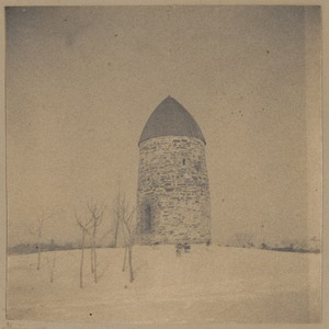 Old mill and powder house, W. Somerville
