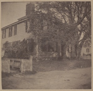 Plymouth, William Harlow House, built of wood from Pilgrim Fort, 1667.