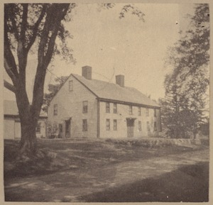 Wayland, Reeve's house, about 1715.