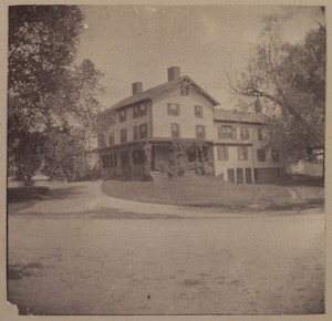 Wayland, Pequod house, before 1771.