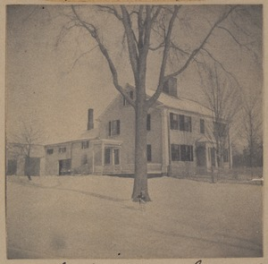 Bedford, Clark-Sampson house, built about 1733.