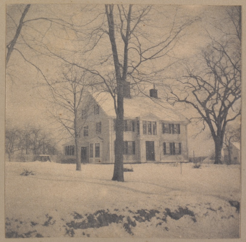 Bedford, Reed house, Domine manse, built 1729.
