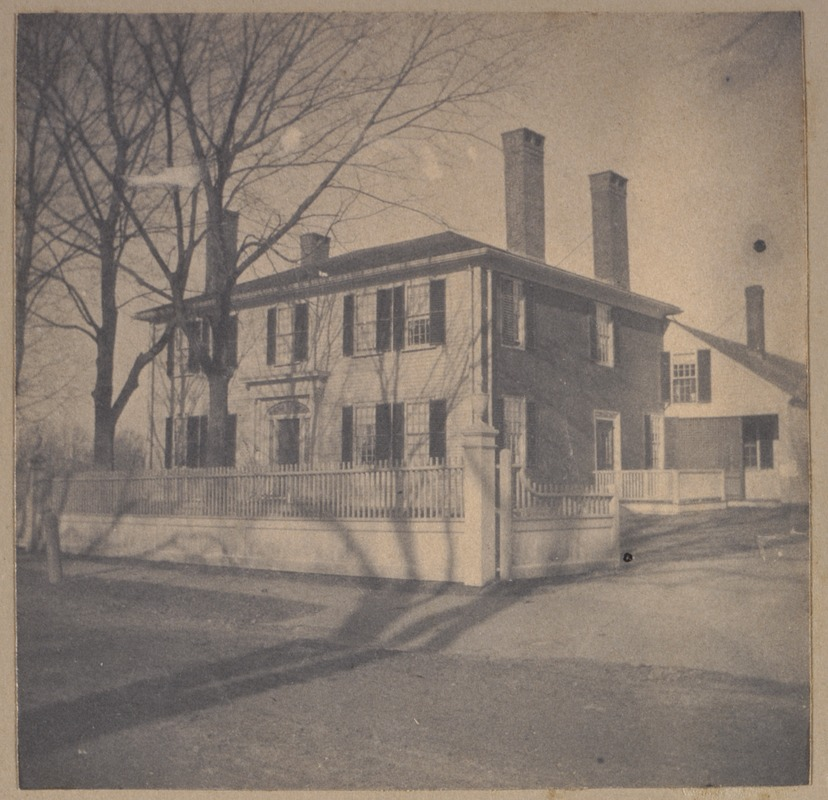 Bedford, Squire's house, Squire Sterns' house, now owned by Geo. R. Blinn.