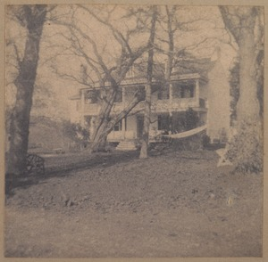 Old house in Baltimore County, Maryland