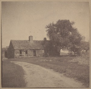 West Wilton, old house.