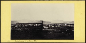 North Conway - from Sunset Hill