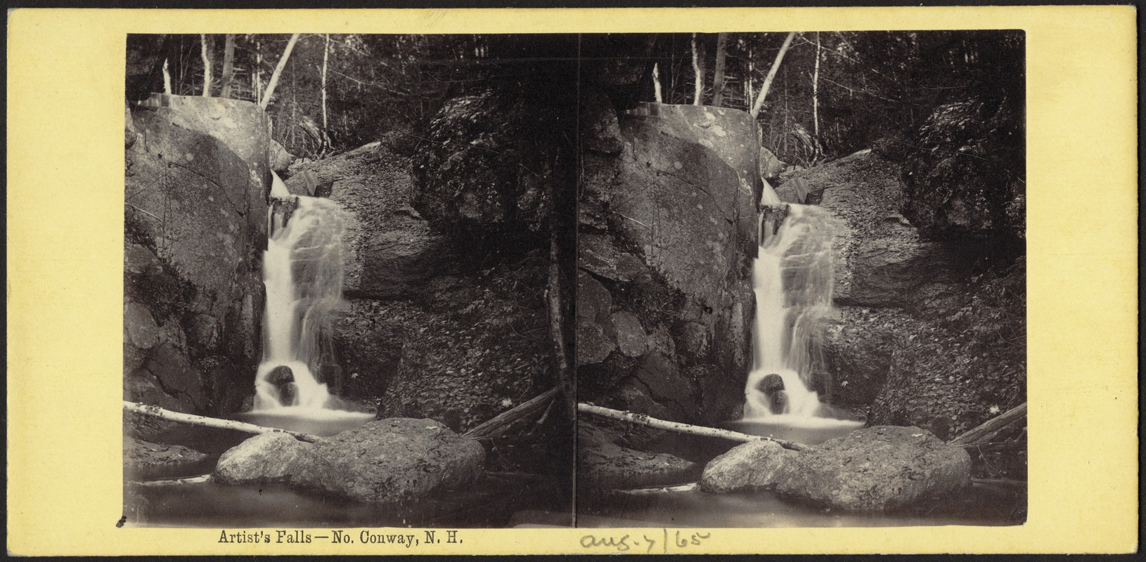 Artist's Falls - No. Conway, N. H.