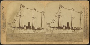 "U.S. Steamship ""Concord,"" Columbus Naval Review, New York Harbor, U.S.A."