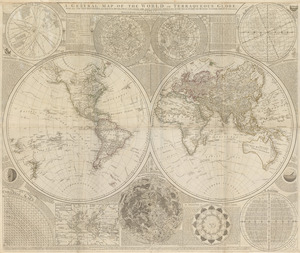 A general map of the world, or terraqueous globe