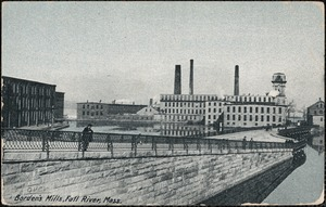 Borden's Mills, Fall River, Mass.