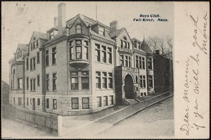 Boys Club, Fall River, Mass.