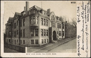Boys' Club House, Fall River, Mass.