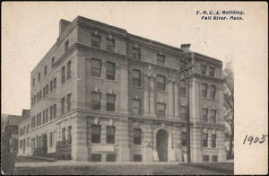 Y.M.C.A. building, Fall River, Mass.