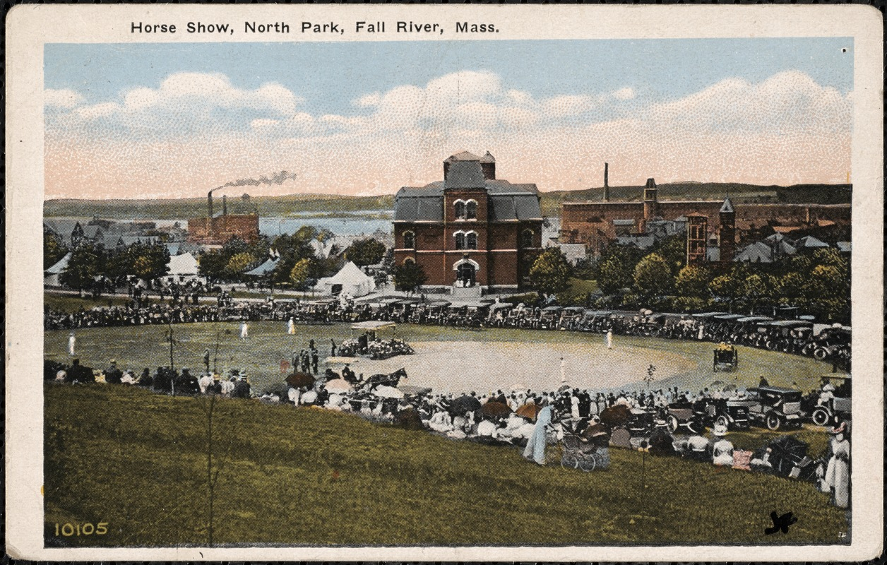 Horse show, North Park, Fall River, Mass. - Digital Commonwealth