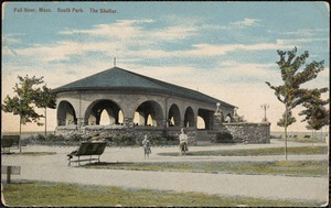 Fall River, Mass. South Park. The Shelter.