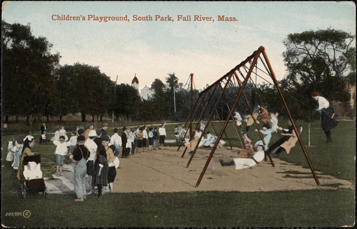 Children's playground, South Park, Fall River, Mass.