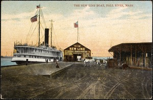 The New Line Boat, Fall River, Mass.
