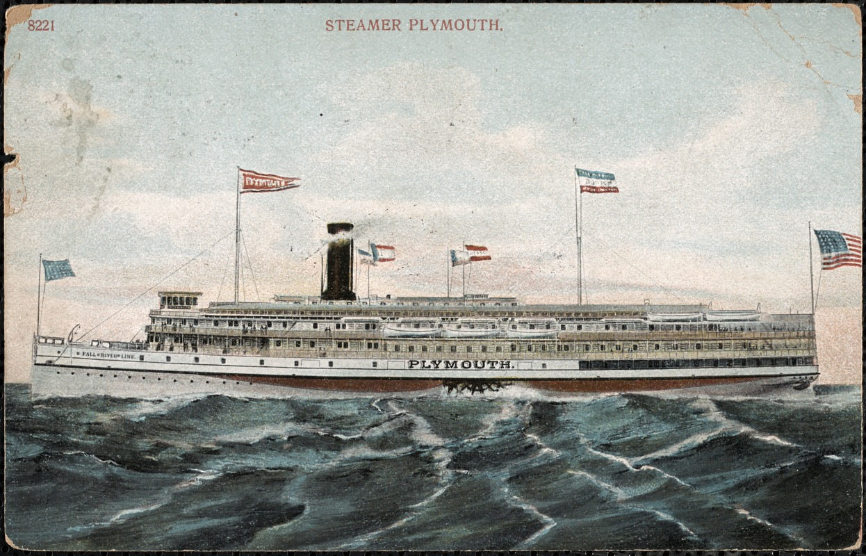 """Steamer """"Plymouth"""""""