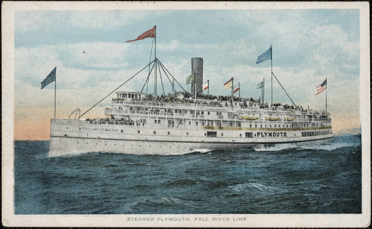 Steamer Plymouth, Fall River Line
