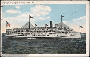 "Steamer ""Plymouth"", Fall River Line"