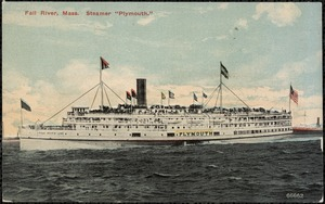 "Fall River, Mass. Steamer ""Plymouth"""
