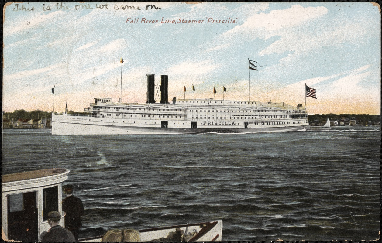 Fall River Line, Steamer Priscilla