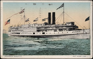 Steamer Priscilla, Fall River Line