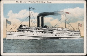 "The Steamer ""Priscilla"", Fall River, Mass."