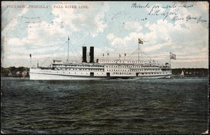"Steamer ""Priscilla"", Fall River Line"