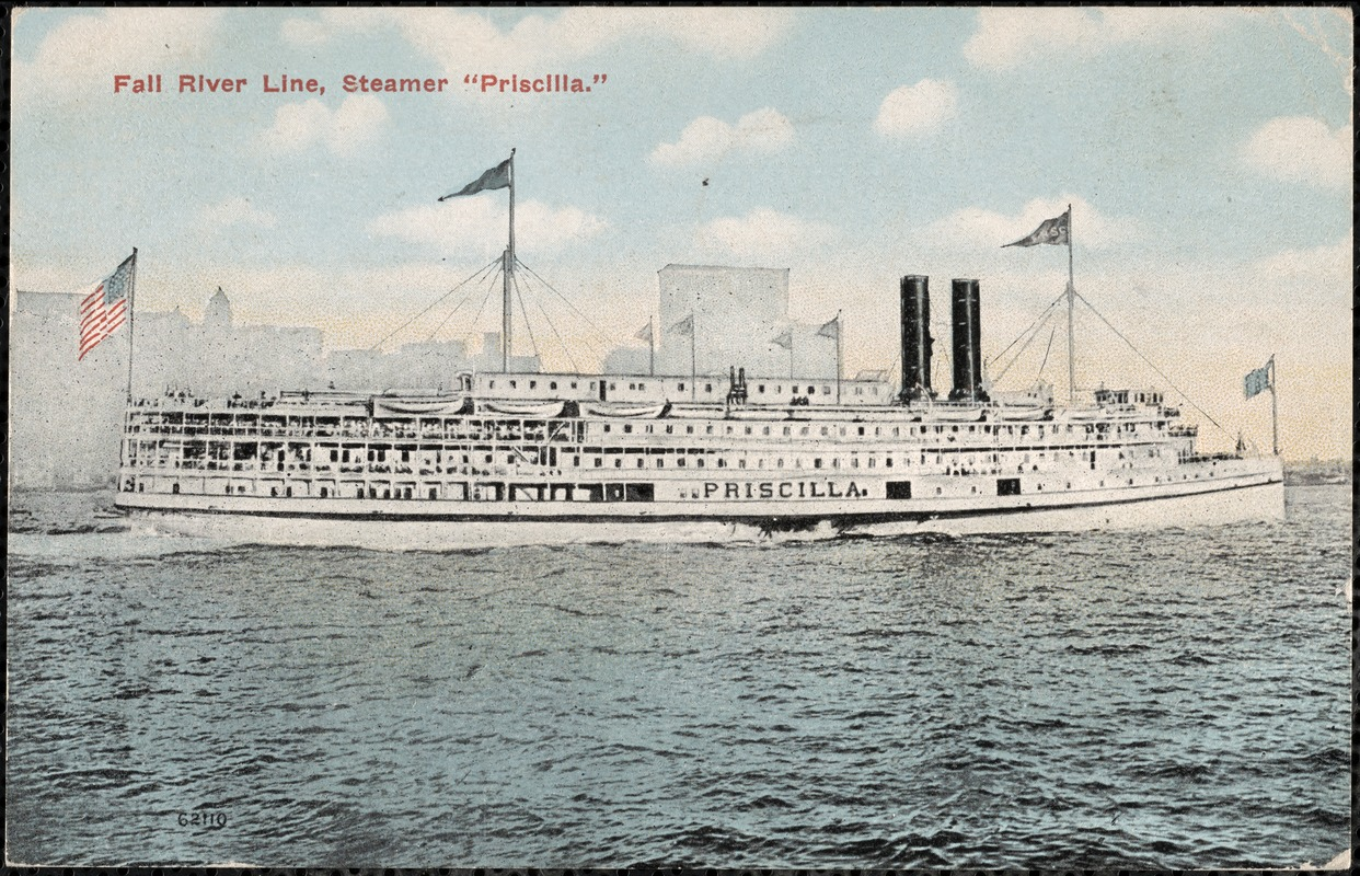 "Fall River Line, Steamer ""Priscilla"""