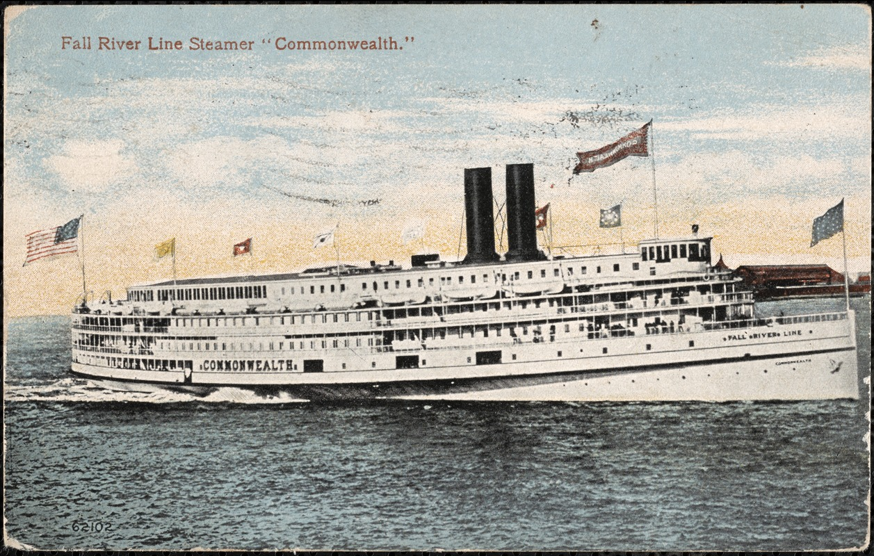 "Fall River Line Steamer ""Commonwealth"""