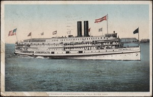 Steamship Commonwealth Fall River Line